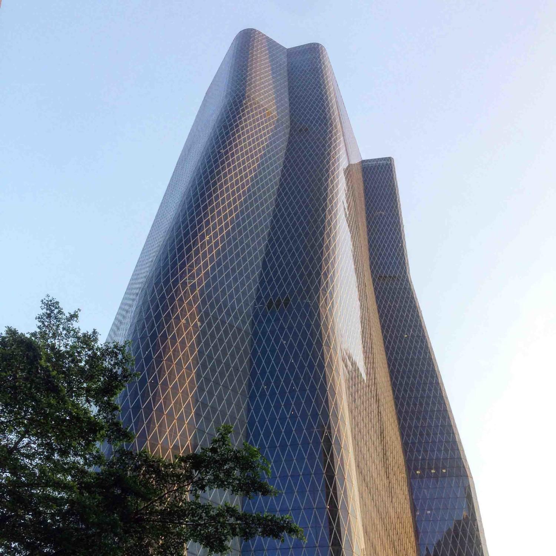 Bakrie Tower di Rasuna Epicentrum beroperasi mulai tahun 2009 (Sumber: Instagram.com/evankriswandi)