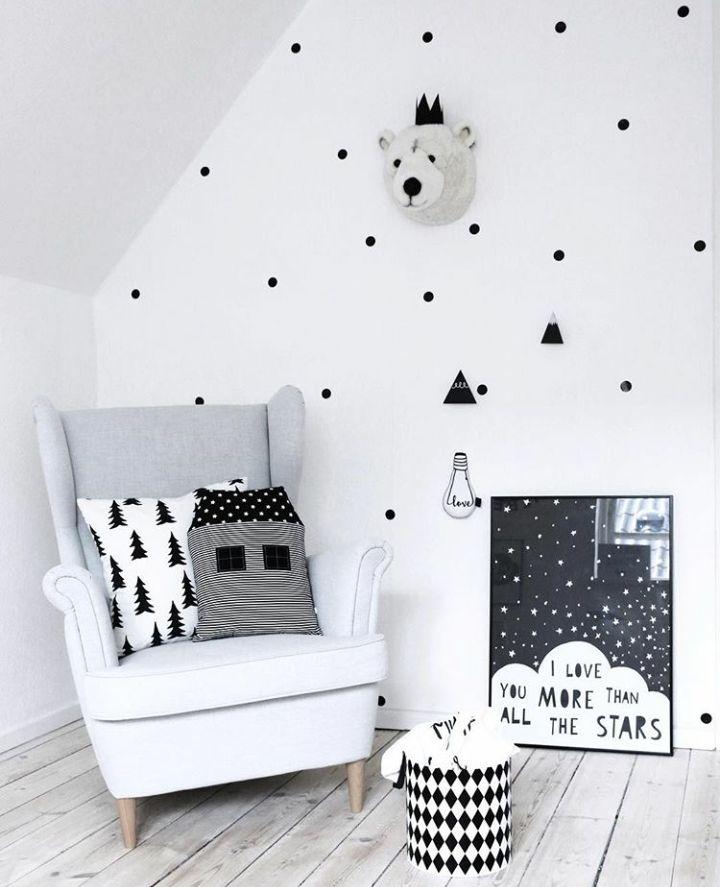 Monochrome Scandinavian (Sumber: pinterest.com)