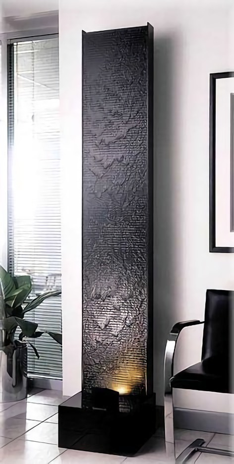 Panel air mancur berbahan acrylic indah dan tahan lama (Sumber: exaltedfountains.com)