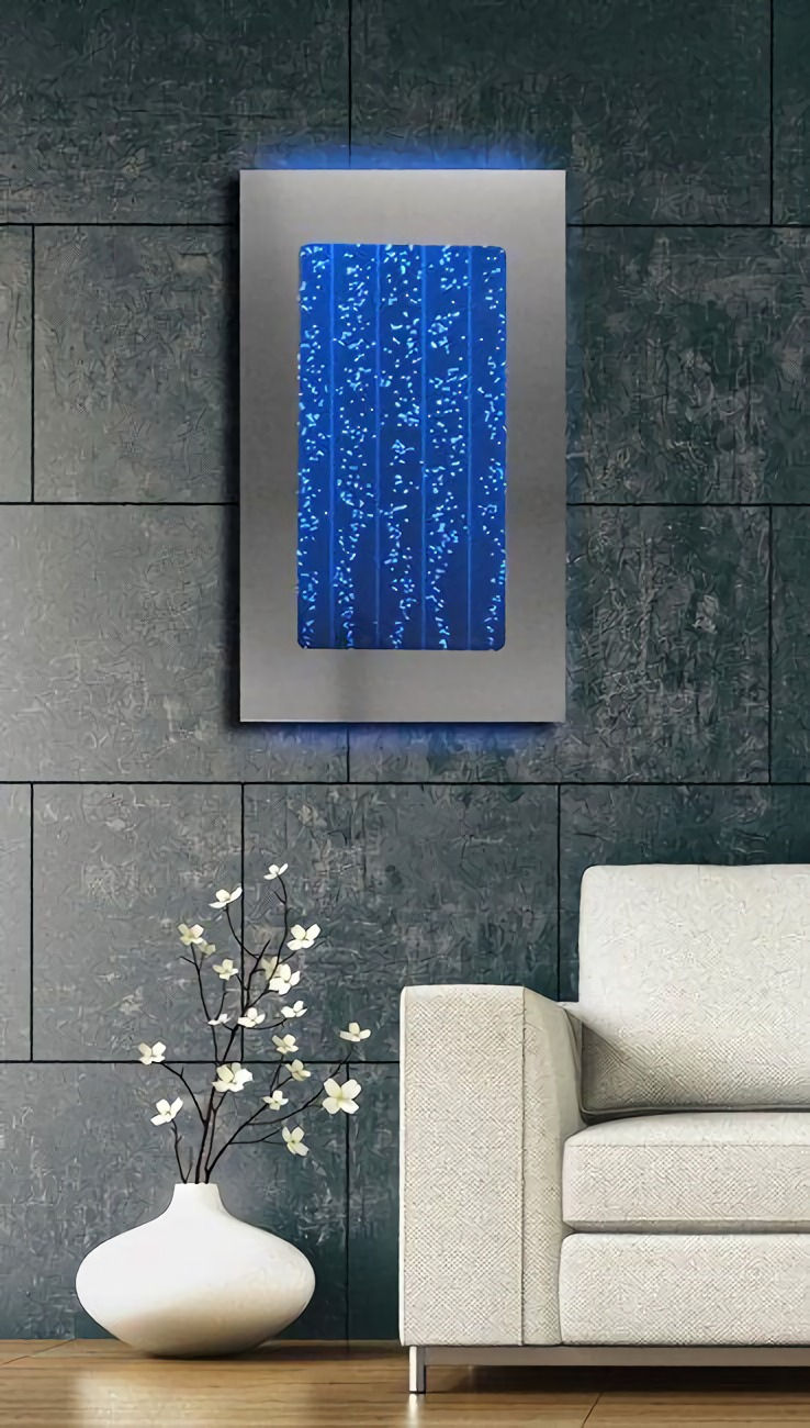 Gelembung air berwarna sebagai dekorasi dan aksen ruang (Sumber: thistookmymoney.com)