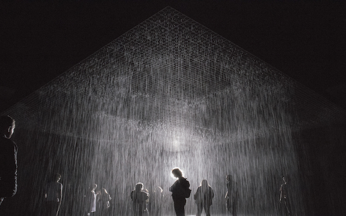 """Rain Room"" di Los Angeles County Museum of Art (Sumber: my.asiatatler.com)"