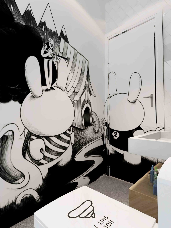 630 Gambar Dinding Kamar Keren Hitam Putih Gratis Terbaru