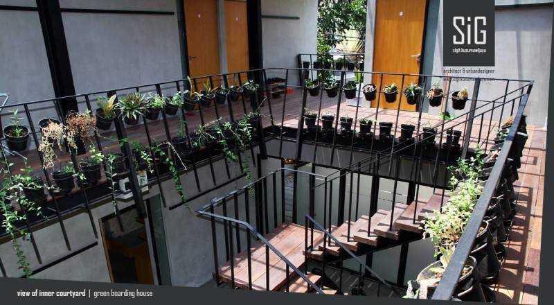 Rumah Beranda – Green Boarding House karya Sigit Kusumawijaya (Sumber: arsitag.com)