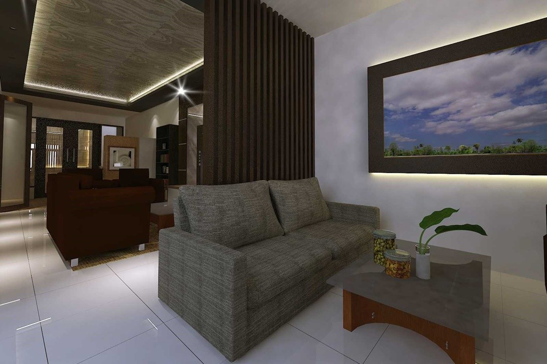 Project Rumah Tinggal 3 Lantai oleh Andiyanto Purwono.ST (Sumber: arsitag.com)