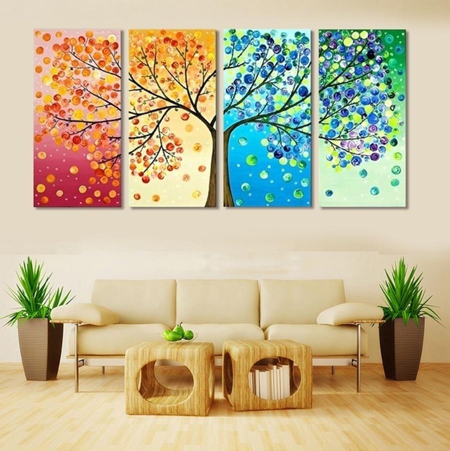 Menghias Ruang Tamu dengan Lukisan
