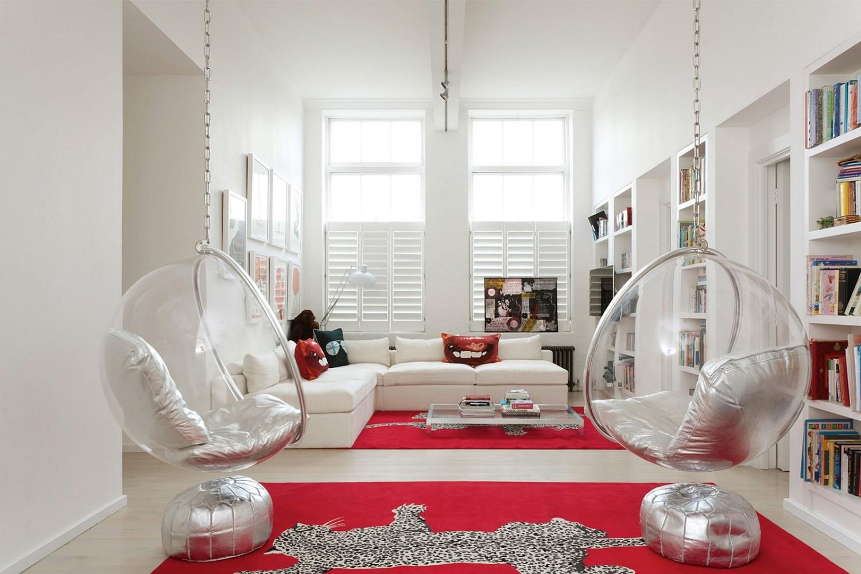 Hammock Chair untuk Mempercantik Ruang Tamu