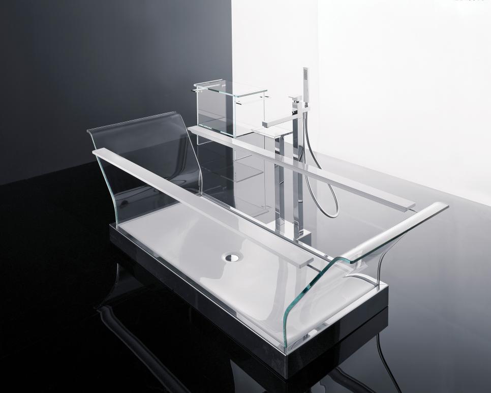 Bathtub Kaca