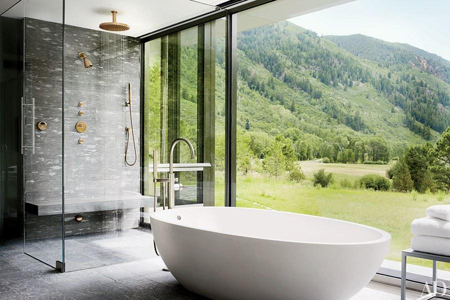 8 Desain Bathtub yang Bisa Membuat Waktu Mandi Anda Menjadi Sangat Menyenangkan | Foto artikel Arsitag