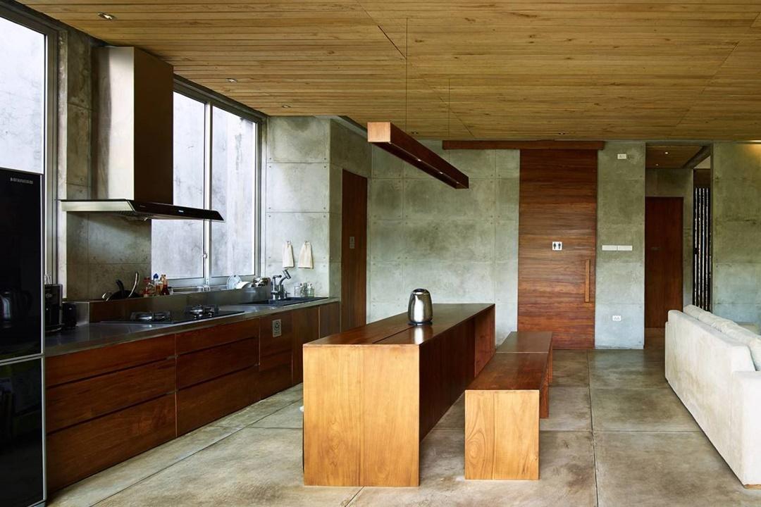 Dapur impian Bare Minimalist di Jakarta karya RAW Architecture (Sumber: arsitag.com)