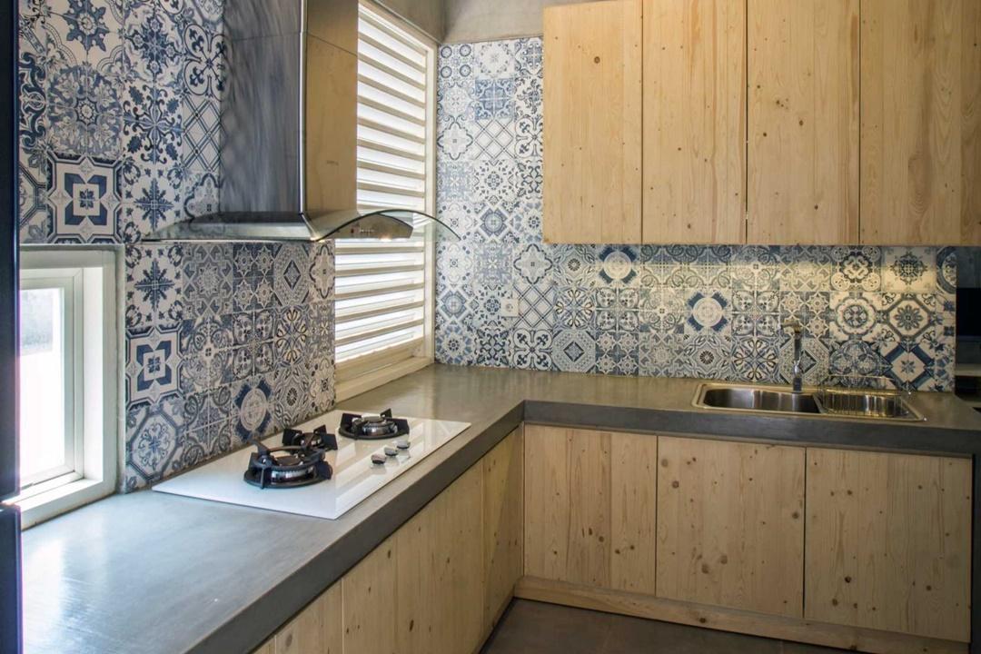 Dapur impian Rumah Miring di Surabaya karya Andyrahman Architect (Sumber: arsitag.com)