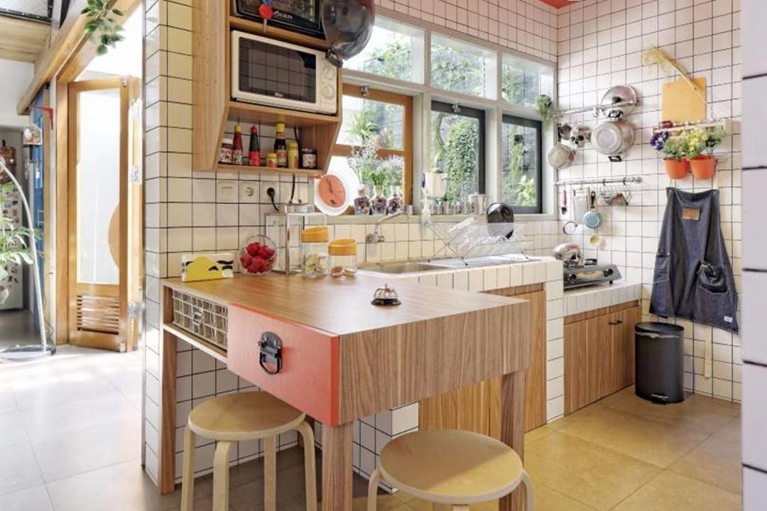 Dapur impian Stoy House di Bandung karya Aaksen Responsible Architecture (Sumber: arsitag.com)