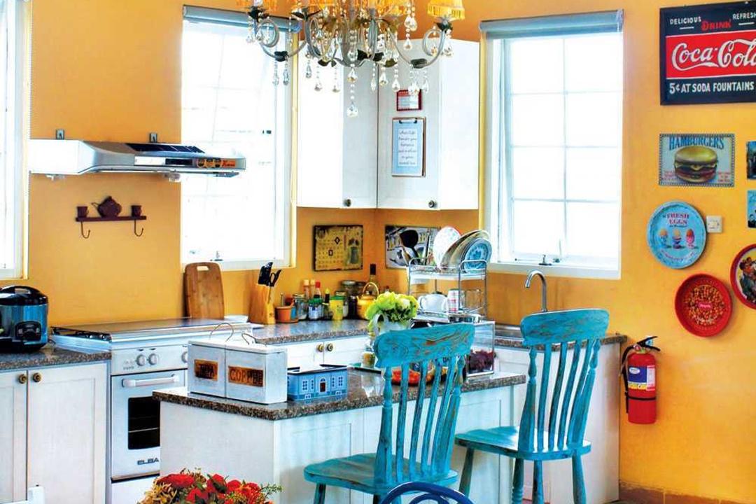 Dapur impian Rumah Paris di Yogyakarta karya Vindo Design (Sumber: arsitag.com)