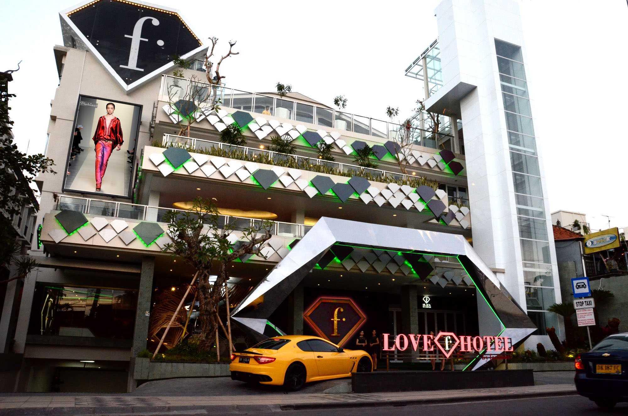 Love F Hotel, Legian (Sumber: marquesandjordy.com)