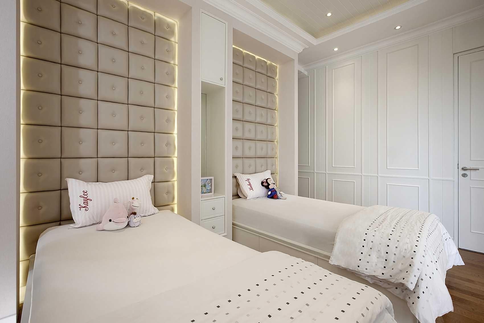 Kamar tidur anak senopati-suites-apartment-1karya Highstreetstudio (Sumber: arsitag.com)
